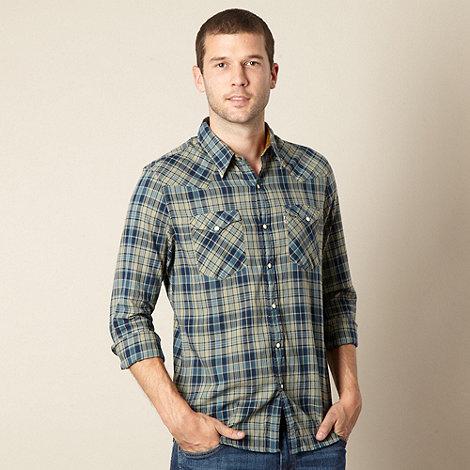 Levi+s - Blue checked shirt