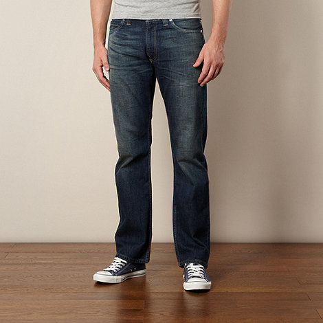 Levi+s - 506&#8482 field blue straight leg jeans