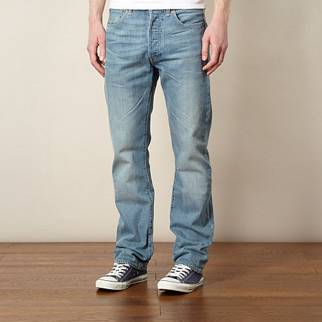 Levi+s - 501® broken blues straight leg jeans
