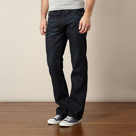 Levi+s - 527&#8482 canada blue bootcut jeans