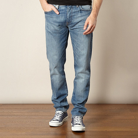 Levi+s - 511&#8482 clarity blue slim fit jeans