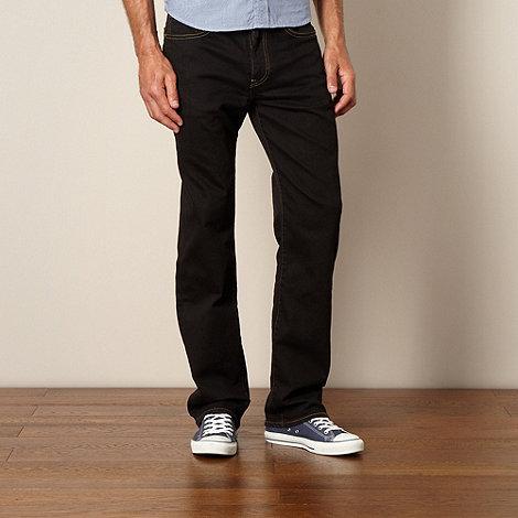 Levi+s - 751 stalwart black straight leg jeans
