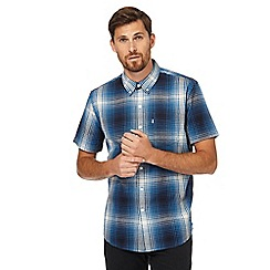 Levi's - Navy checked print regular fit shirt
