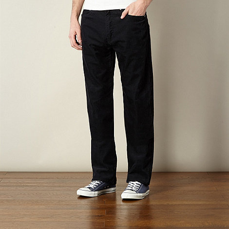 Levi+s - 751 navy straight leg trousers