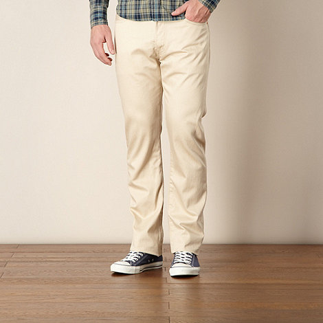 Levi+s - 501® beige straight leg jeans