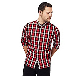 Levi's - Red bold check long-sleeved shirt