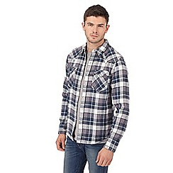 Levi's - Multi-coloured checked 'Barstow' western shirt
