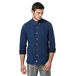 Levi's - Dark blue chambray shirt