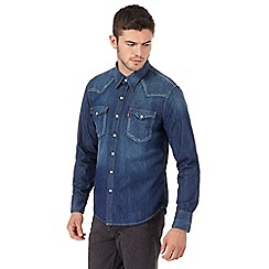 Levi's - Blue denim western shirt