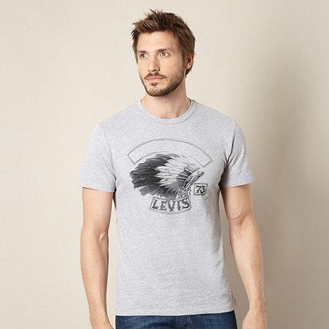 Levi+s - Grey head dress t-shirt