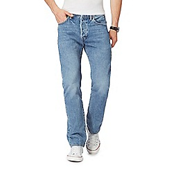 Levi's - Big and tall light blue '501' straight leg jeans