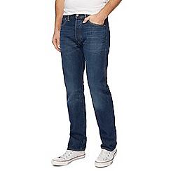 Levi's - Navy 501 straight leg jeans
