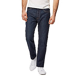 Levi's - Big and tall blue 501 straight leg jeans