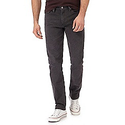 Levi's - Big and tall dark grey '511' slim jeans