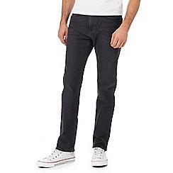 Levi's - Dark blue '502' tapered leg jeans
