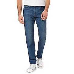 Levi's - Blue '502' tapered leg jeans