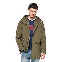 Levi's - Khaki 2-in-1 parka coat