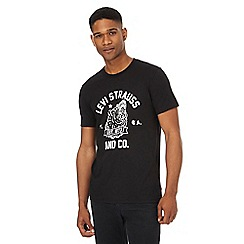Levi's - Black graphic t-shirt