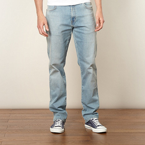 Wrangler - Texas light blue sky regular fit jeans