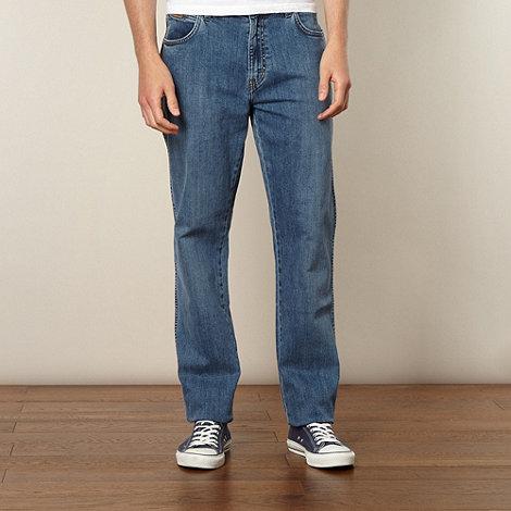 Wrangler - Texas squint blue regualr fit jeans