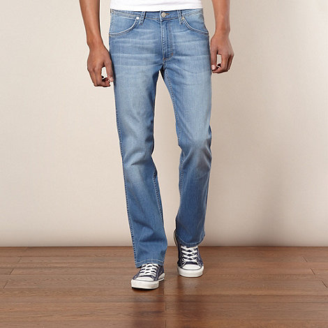 Wrangler - Ace supernova blue regular fit jeans