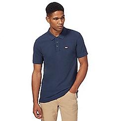 Levi's - Navy logo applique polo shirt