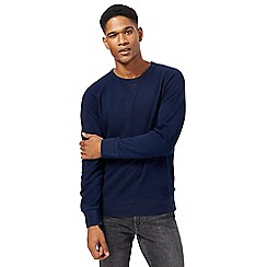 Levi's - Navy crew neck sweater