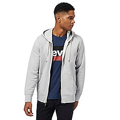 Levi's - Grey zip through hoodie
