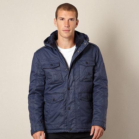 Wrangler - Blue padded jacket