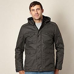 Wrangler - Big and tall khaki field jacket