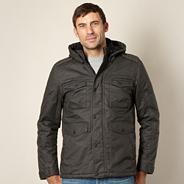 Big and tall khaki field jacket