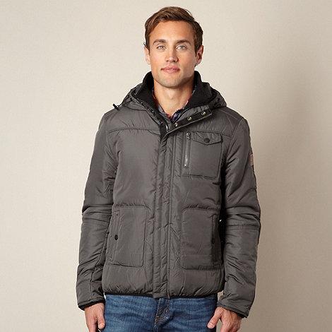 Wrangler - Dark grey hooded jacket