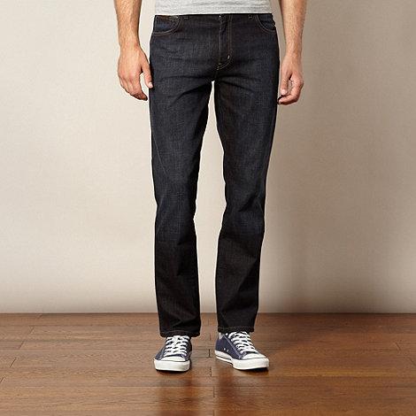 Wrangler - Texas homeward dark blue regular fit jeans