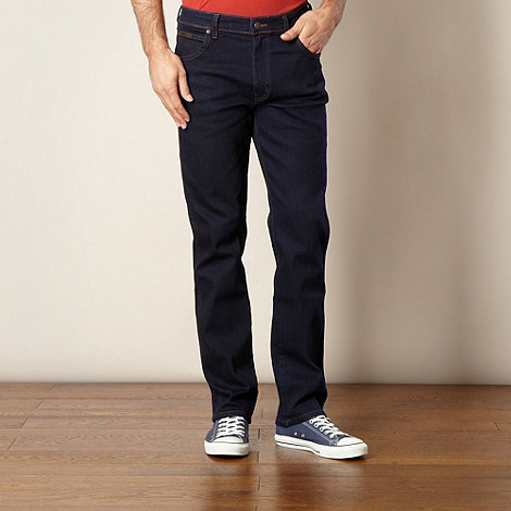 Wrangler - Texas bluebrother dark blue regular fit jeans