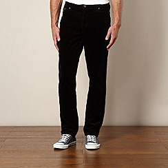 Wrangler - Black corduroy trousers
