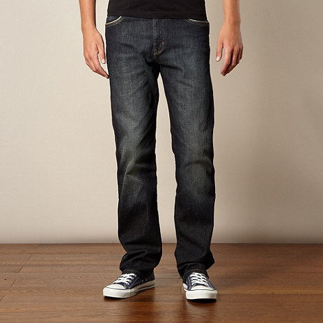 Wrangler - Arizona greystone blue straight leg jeans