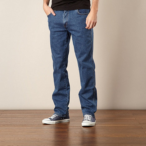 Wrangler - Texas light stone light blue regular fit jeans
