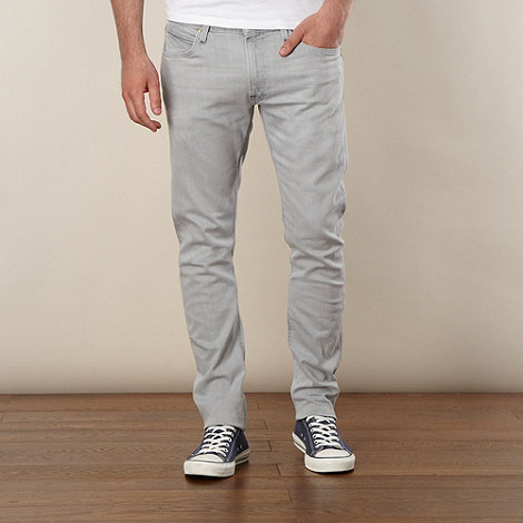 Lee - Luke grey slim fit jeans