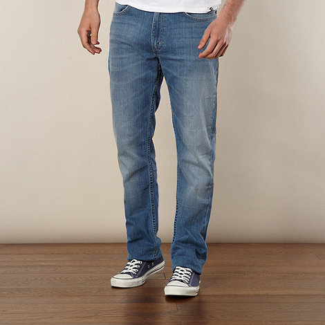 Lee - Brooklyn Summer light blue straight leg jeans