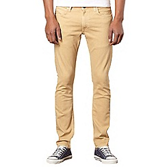 Lee - Luke beige slim fit jeans