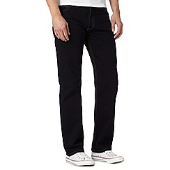 Lee - Brooklyn blue black regular fit jean