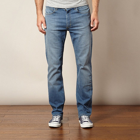 Lee - Brooklyn blue straight leg jeans