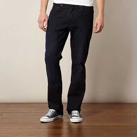 Lee - Brooklyn dark blue straight leg jeans