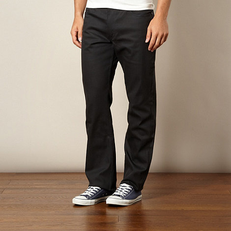 Lee - Brooklyn clean grey dark blue straight leg jeans