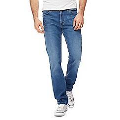 Wrangler - Light blue 'Greensboro' straight jeans