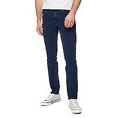 Wrangler - Dark blue 'Bryson' skinny jeans