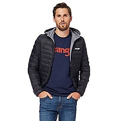 Wrangler - Black padded jacket