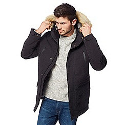 Wrangler - Grey parka jacket