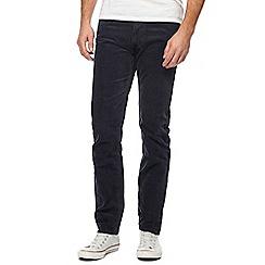 Lee - Navy 'Daren' corduroy trousers