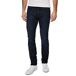 Lee - Dark blue 'Luke' slim fit jeans
